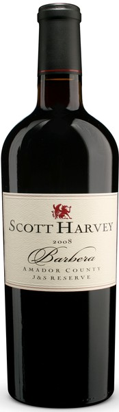 2008 Scott Harvey J&S Reserve Barbera, Amador County