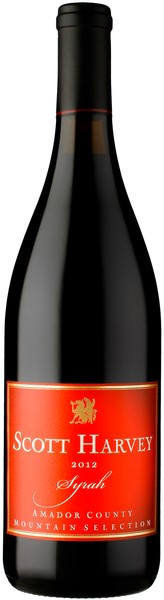 2012 Scott Harvey Mountain Selection Syrah, Amador County