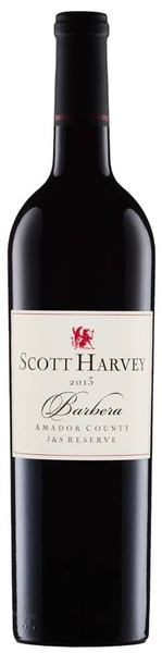 2013 Scott Harvey J&S Reserve Barbera, Amador County