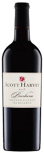 2012 Scott Harvey J&S Reserve Barbera, Amador County Image