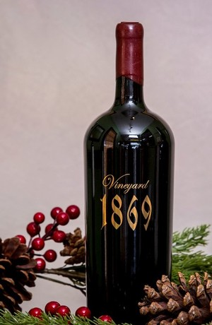 2017 Scott Harvey Vineyard 1869 Zinfandel, Amador County - 3 Liter