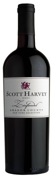 2012 Scott Harvey Old Vine Reserve Zinfandel, Amador County