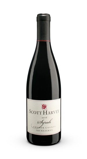 2016 Scott Harvey J&S Reserve Syrah, Amador County