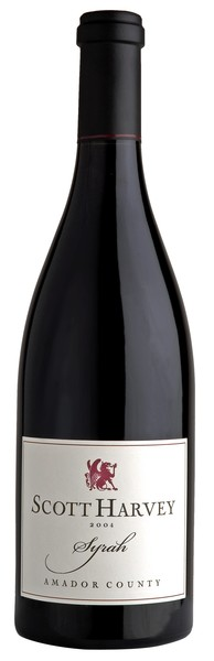 2012 Scott Harvey J&S Reserve Syrah, Amador County