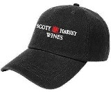 Scott Harvey Wines Baseball Cap - Black
