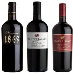 Scott Harvey Zinfandel Trio, Amador County Image