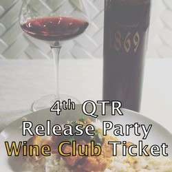 4th QTR Release - Wine Club Ticket