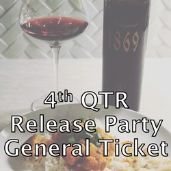 4th QTR Release - General Ticket