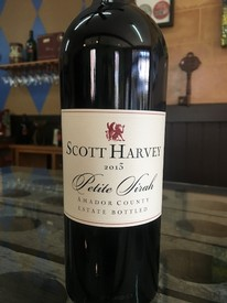 2013 Scott Harvey Estate Bottled Petite Sirah Image