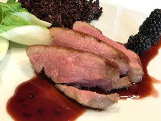 Sous Vide Duck and Zinfandel Pepper Jelly